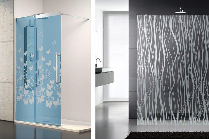 Mamparas de baño de diseño